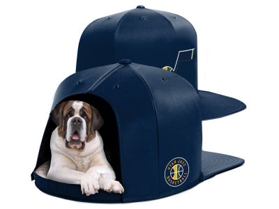 Utah Jazz Nap Cap NBA Nap Cap Pet Bed - Large