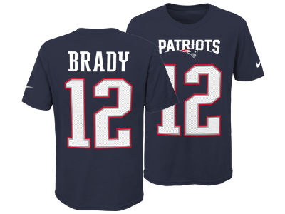 New England Patriots Tom Brady Nike NFL Youth Pride Name and Number 3.0 T-Shirt