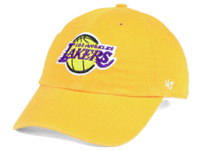 official photos 0a415 b2bc1 Los Angeles Lakers  47 NBA  47 CLEAN UP Cap