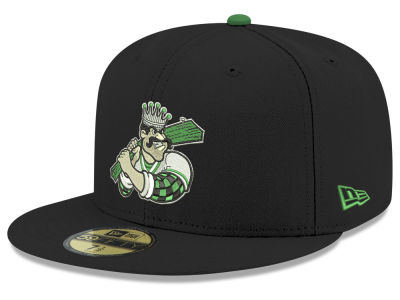 Clinton LumberKings New Era MiLB 2001 Capsule 59FIFTY Cap