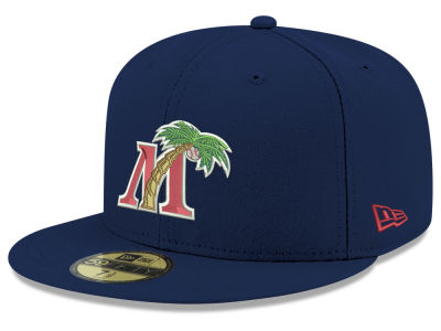 Fort Myers Miracle New Era MiLB 2001 Capsule 59FIFTY Cap