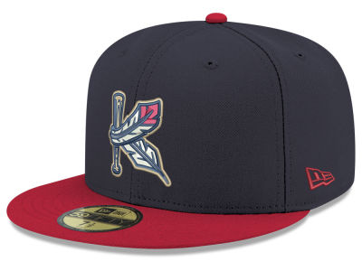 Kinston Indians New Era MiLB 2001 Capsule 59FIFTY Cap