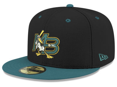 Myrtle Beach Pelicans New Era MiLB 2001 Capsule 59FIFTY Cap