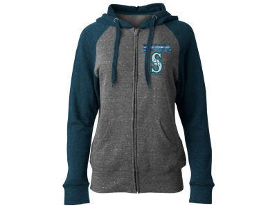 Seattle Mariners 5th & Ocean MLB Women's Team Full Zip Hoodie