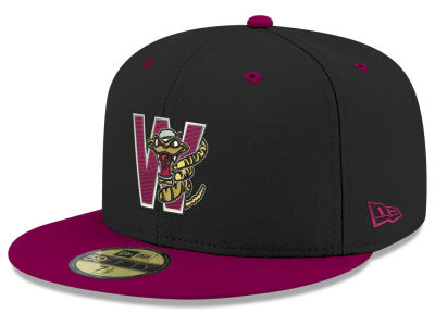 Wisconsin Timber Rattlers New Era MiLB 2001 Capsule 59FIFTY Cap