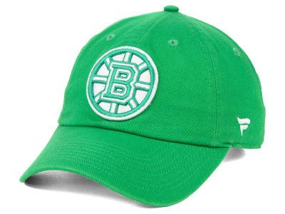 768a557ab5f Boston Bruins NHL Branded 2019 NHL St. Patrick s Day Fundamental Adjustable  Cap