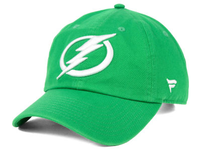 4c92e4e973a Tampa Bay Lightning NHL Branded 2019 NHL St. Patrick s Day Fundamental  Adjustable Cap