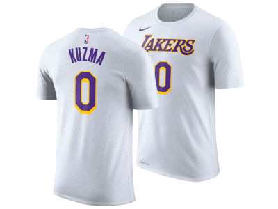 Los Angeles Lakers Kyle Kuzma Nike NBA Men s Association Player T-Shirt 907fb7361