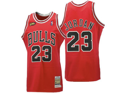 Chicago Bulls Michael Jordan Mitchell & Ness NBA Men's Hardwood Classic Authentic Legends Jersey