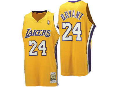 Los Angeles Lakers Kobe Bryant Mitchell & Ness NBA Men's Hardwood Classic Authentic Legends Jersey