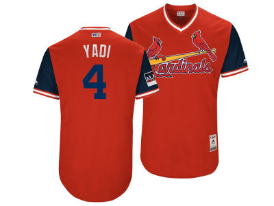St. Louis Cardinals Yadier Molina Majestic MLB Men's Players Weekend Authentic Jersey