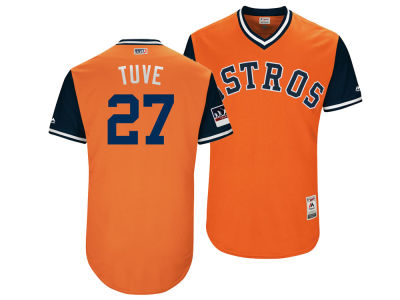 Houston Astros Jose Altuve Majestic MLB Men's Players Weekend Authentic Jersey