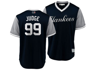 New York Yankees Aaron Judge MLB Men's Player's Weekend Replica Cool Base Jersey