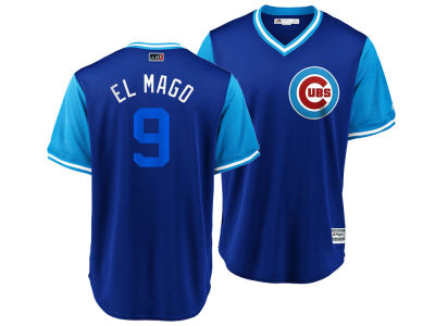 Chicago Cubs Javier Baez MLB Men's Player's Weekend Replica Cool Base Jersey