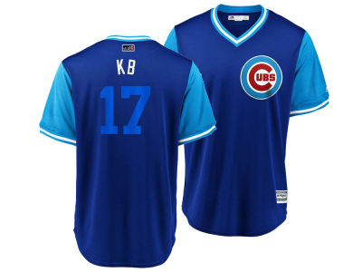 Chicago Cubs Kris Bryant MLB Men's Player's Weekend Replica Cool Base Jersey