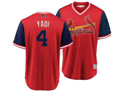 St. Louis Cardinals Yadier Molina MLB Men's Player's Weekend Replica Cool Base Jersey