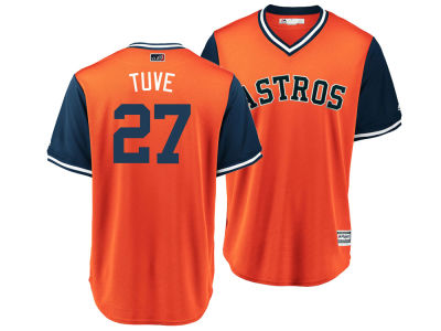Houston Astros Jose Altuve MLB Men's Player's Weekend Replica Cool Base Jersey