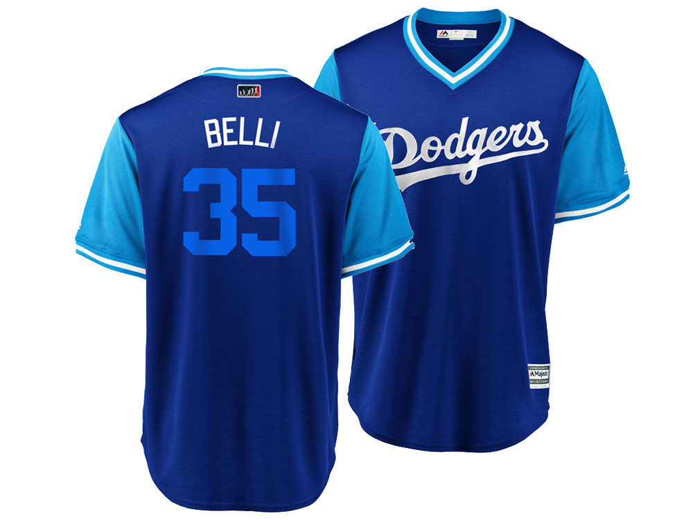 Los Angeles Dodgers Cody Bellinger Majestic MLB Men s Player s Weekend  Replica Cool Base Jersey  52b6352080a
