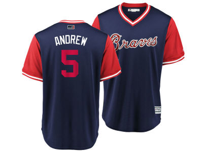 Atlanta Braves Freddie Freeman MLB Men's Player's Weekend Replica Cool Base Jersey