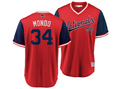 Washington Nationals Bryce Harper MLB Men's Player's Weekend Replica Cool Base Jersey