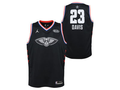 New Orleans Pelicans Anthony Davis Jordan 2019 NBA Youth All-Star Swingman Jersey