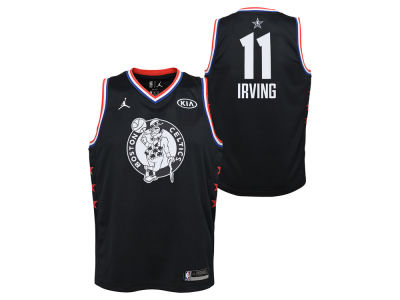 Boston Celtics Kyrie Irving Jordan 2019 NBA Youth All-Star Swingman Jersey