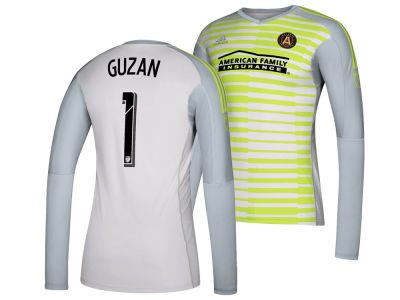 buy popular a56b2 9be99 Atlanta United FC Brad Guzan adidas MLS Men s Goalie Jersey