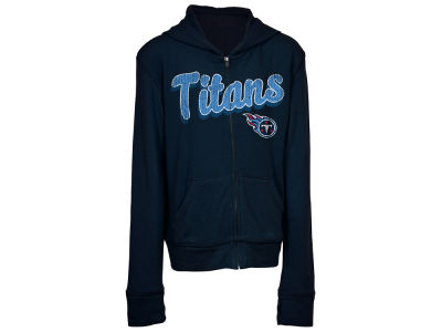 Tennessee Titans 5th & Ocean NFL Youth Girls Sweater Full Zip Hoodie