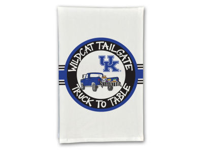 Kentucky Wildcats Magnolia Lane Fan Hand Towel