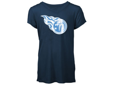 Tennessee Titans 5th & Ocean NFL Youth Girls Logo T-Shirt