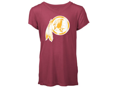 Washington Redskins 5th & Ocean NFL Youth Girls Logo T-Shirt