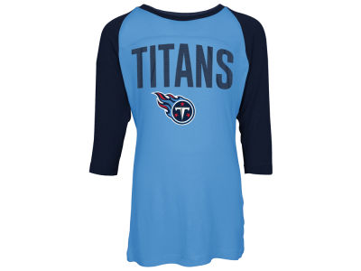 Tennessee Titans 5th & Ocean NFL Youth Girls Raglan T-Shirt