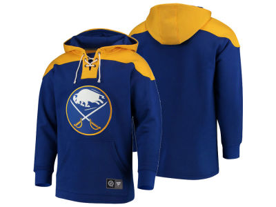 Buffalo Sabres NHL NHL Men s Breakaway Lace Up Hoodie dd19e9162