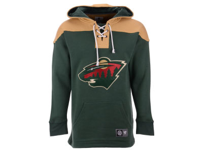 Minnesota Wild NHL Men's Breakaway Lace Up Hoodie