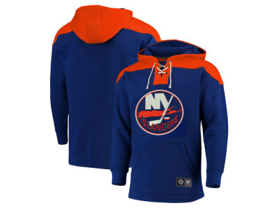 New York Islanders NHL Men's Breakaway Lace Up Hoodie