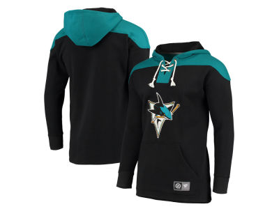 San Jose Sharks NHL Men's Breakaway Lace Up Hoodie