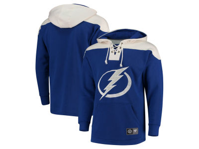 Tampa Bay Lightning NHL Men's Breakaway Lace Up Hoodie