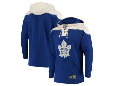 Toronto Maple Leafs NHL Men's Breakaway Lace Up Hoodie
