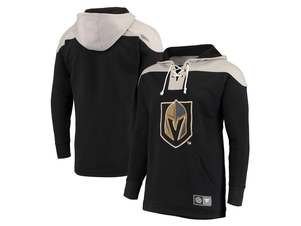 Vegas Golden Knights NHL NHL Men s Breakaway Lace Up Hoodie  2d89d4820