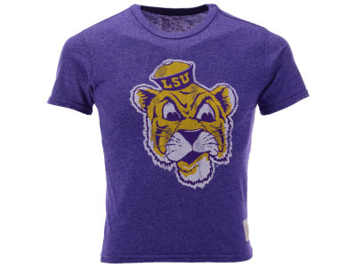LSU Tigers Retro Brand NCAA Youth Mock Twist T-Shirt