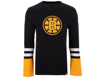 Boston Bruins Majestic NHL Men s 5 Minute Major Long Sleeve T-Shirt b7d338c18