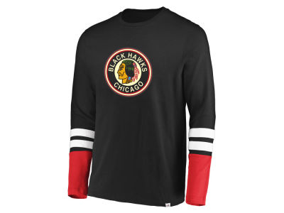 Chicago Blackhawks NHL Men's 5 Minute Major Long Sleeve T-Shirt
