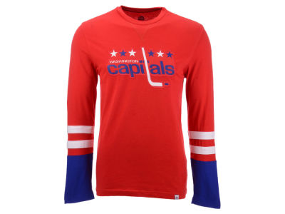 25ed0316b Washington Capitals Majestic NHL Men s 5 Minute Major Long Sleeve T-Shirt