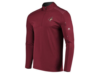 Arizona Coyotes NHL Men's Ultra Streak Half Zip Pullover