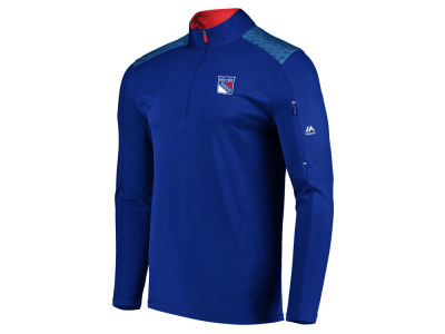New York Rangers NHL Men's Ultra Streak Half Zip Pullover