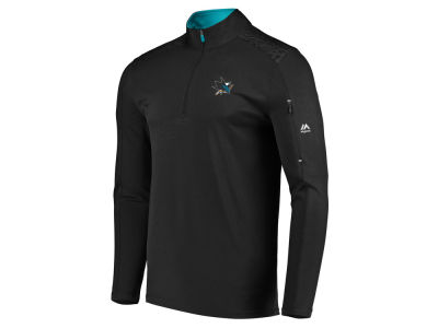 San Jose Sharks NHL Men's Ultra Streak Half Zip Pullover