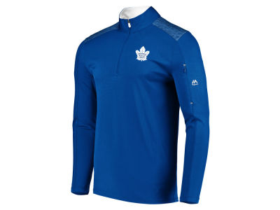 Toronto Maple Leafs NHL Men's Ultra Streak Half Zip Pullover