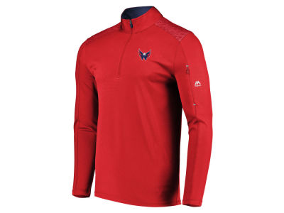 Washington Capitals NHL Men's Ultra Streak Half Zip Pullover