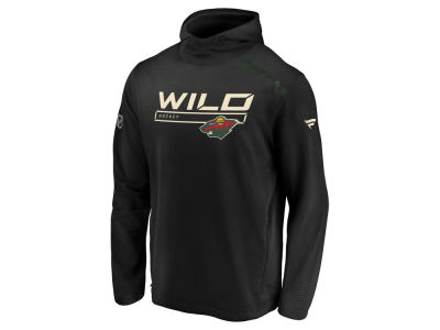 Minnesota Wild NHL Men's Rinkside Transitional Hoodie