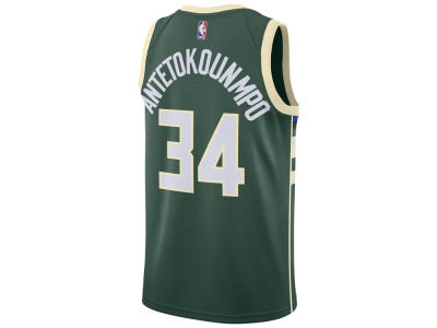 Milwaukee Bucks Giannis Antetokounmpo Nike NBA Youth Swingman Icon Player Jersey